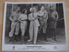 Zanzibar, Universal Pictures Still, Lola Lane James Craig, Clarence Muse '40 (a)